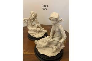 Статуетки пара старовинна з Бельгії