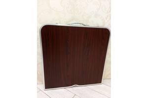 Стол для пикника туристический раскладной. Стіл туристичний складний чемодан 4 стільці для пікніка риболовлі саду