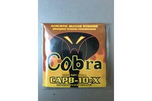 Струны для акустической гитары Cobra CAPB-10-x