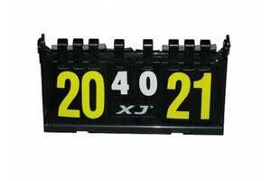 Судейское табло для волейбола настольного тенниса и других видов спорта 38 х 20 х 3.5 см Sprinter 11V11 (spr_39006)