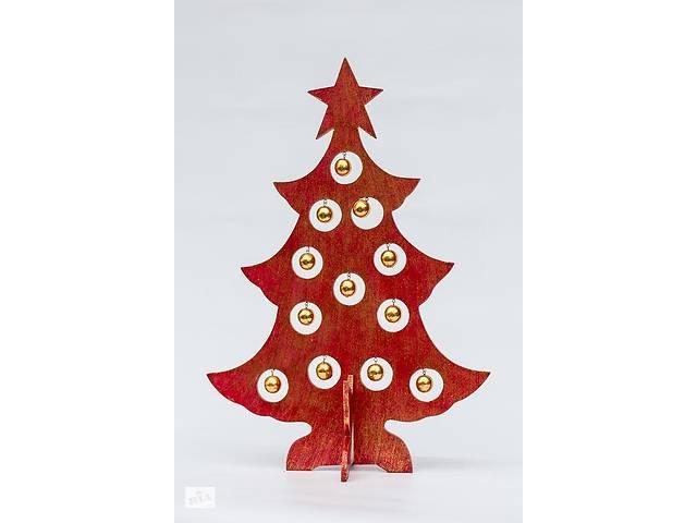 продам Сувенир Елка новогодняя BST 40 см красная с золотыми шарами 530560 бу в Харькове