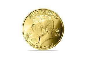 Сувенирная памятная монета для врачей
