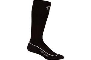 Термоноски Icebreaker Ski Mid MEN black/white/black XL (IBN 324 316 XL)