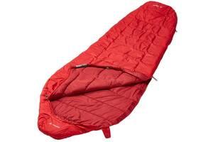 Трехсезонный спальник Vaude Sioux 100 SYN, dark indian red, left, цвет - красный, рост - 195 см. 4052285112271