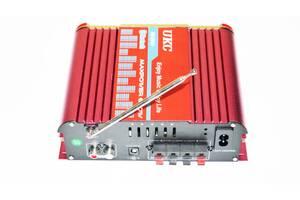 Усилитель звука UKC AV-206U USB/SD/FM/MP3 Bluetooth Караоке 300W+300W (3sm_891813508)