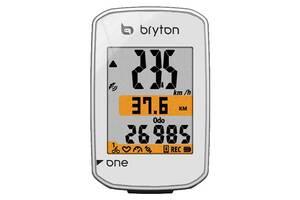 Велокомпьютер Bryton Rider One E белый