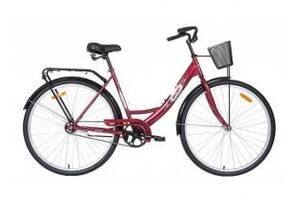 """Велосипед Аист (AIST) 28-245 (толстая рама) """"Женский"""" с корзиной"""