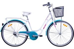 "Велосипед Аист (AIST) AVENUE 1.0 26"" с корзиной"
