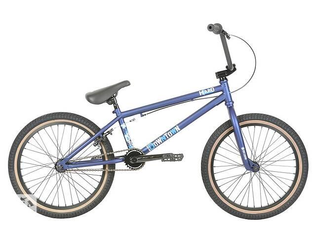 Велосипед BMX Haro 2019 Downtown 20.5 TT Matte Blue- объявление о продаже  в Одессе