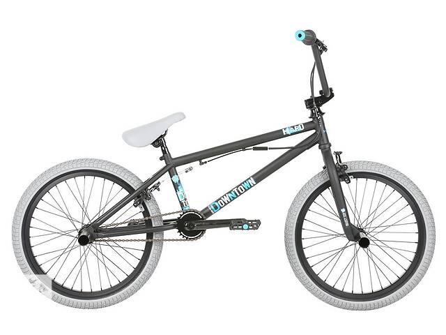Велосипед BMX Haro 2019 Downtown DLX 19.5/20.5 TT Matte Black- объявление о продаже  в Одессе