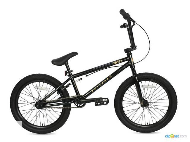 продам Велосипед BMX REVOLT 2021 black бу в Львові