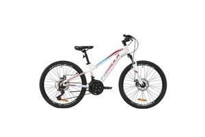 """Велосипед Formula 20"""" BLACKWOOD 1.0 AM Vbr рама-11,5"""" Al 2020 бело-фиолетовый (OPS-FR-20-051)"""