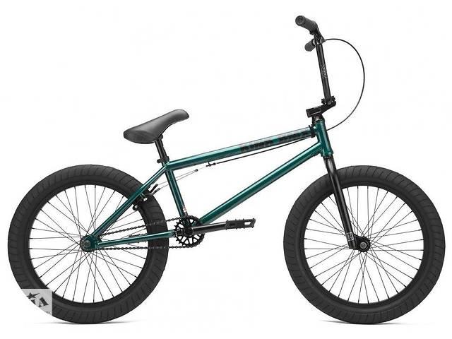 Велосипед KINK BMX Gap XL 2021 прозрачно-зеленый- объявление о продаже  в Львове
