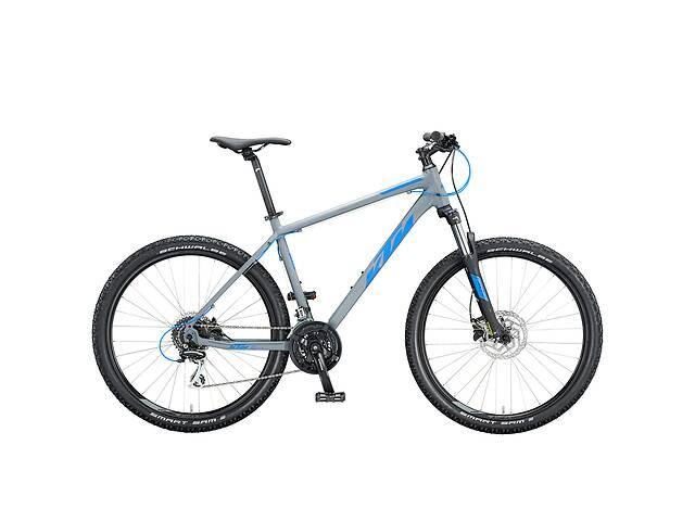 """бу Велосипед KTM CHICAGO DISC 29 """", рама S, сіро-синій, 2020 в Львове"""