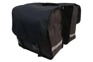Велосипедная сумка, велоштаны 34 L Сrivit S061785 черная