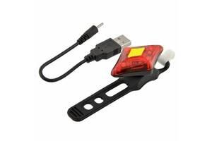 Яскравий водонепроникний ліхтарик з USB кабелем