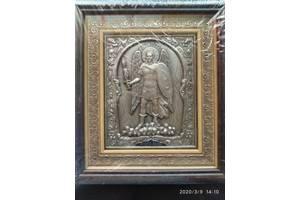 Икона Архистратиг Михаил (23х26) см серебрение