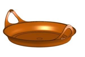 Защита для сковороды Frypan на радиатор Jetboil Bottom Cover Orange оранжевый
