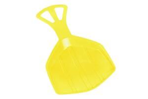 Зимние санки-лопата Pedro Plastkon желтые SKL24-238234