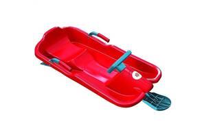 Зимние санки Plastkon Ski Bob красные SKL24-238303