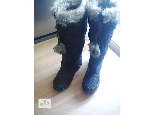 купить бу Классные зимние сапожки 37-41 в Днепре (Днепропетровск)