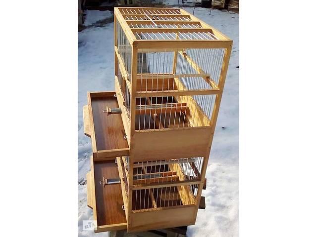 продам Клетки для птиц многоярусные. бу в Киеве