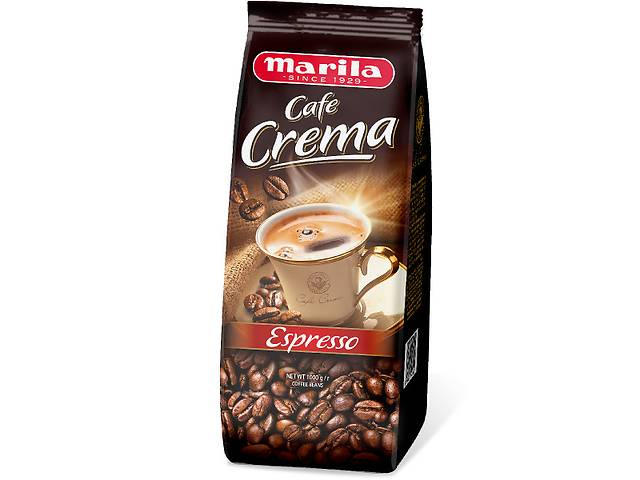 Кофе в зёрнах Marila Cafe Crema Espresso, 1 кг- объявление о продаже  в Киеве