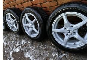 Колеса в сборе лето на ВАЗ R14 185/60. Летние колеса на ВАЗ, комплект летних колес, литые диски, литье, летняя резина.