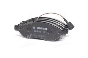 Колодка тормозная дисковая передняя CITROEN / PEUGEOT JUMPER / BOXER (пр-во Bosch)