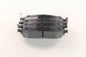 Колодка тормозная дисковая передняя NISSAN QASHQAI, RENAULT KOLEOS (пр-во Bosch)
