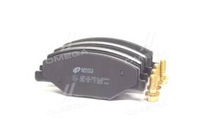 Колодка тормозная дисковая передняя SKODA FABIA 1.2-1.6 2007-2014, VW POLO 1.6 2010- (пр-во REMSA)
