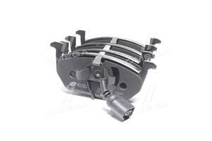 Колодка тормозная дисковая передняя SKODA OCTAVIA (5E3) (5E5) (11 / 12-); VW GOLF VII (11 / 12-) (пр-во REMSA)