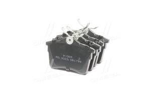 Колодка тормозная дисковая задняя CITROEN BERLINGO, PEUGEOT PARTNER 08- (RIDER)
