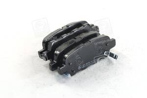 Колодка тормозная дисковая задняя NISSAN/RENAULT QASHQAI/X-TRAIL/KOLEOS (пр-во ABS)