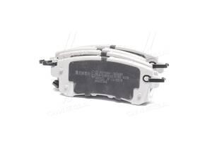 Колодки тормозные дисковые задние INFINITI QX 07-, Nissan PATROL 10- (пр-во ASHIKA)