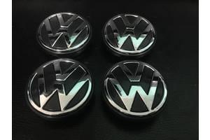 Колпачки в титановые диски VW в ассортименте (4 шт) Оригинал, 56 мм (внутр.)