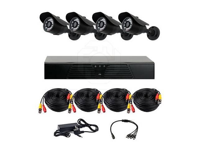 продам Комплект AHD видеонаблюдения на 4-е уличные камеры CoVi Security EPK-01W HD KIT бу в Житомире