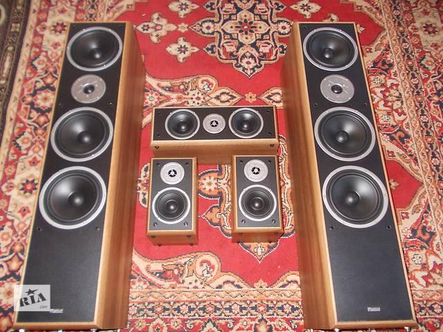 купить бу Комплект акустики 5.0 Magnat и ресивер Kenwood в Сумах