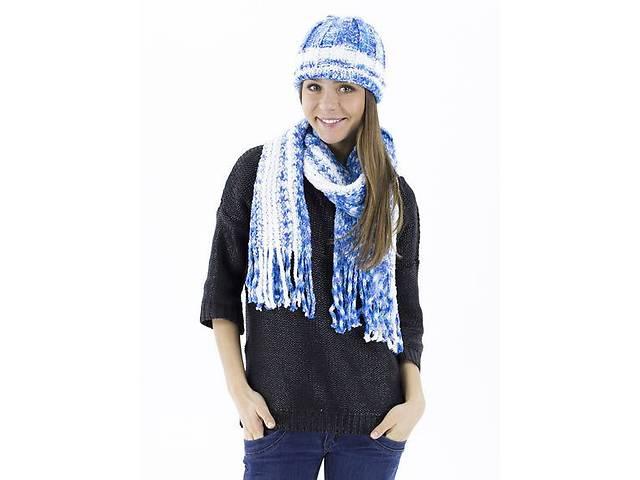 продам Комплект (шапка+шарф) бу в Львове