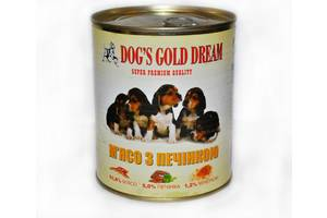 Консерви для собак Dogs Gold Dream