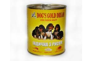 Консервы для собак Dogs Gold Dream