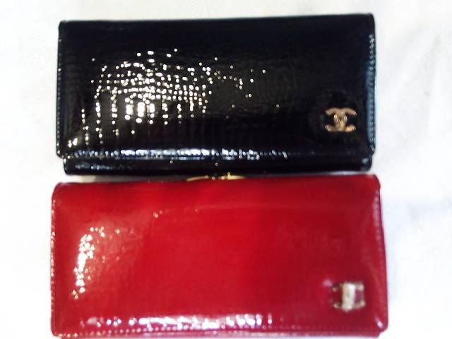 купить бу кошелек CHANEL горизонтальный женский идеальный подарок в Одессе