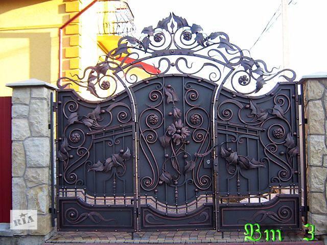продам Кованные ворота Харьков бу  в Украине