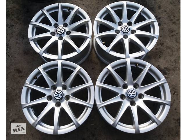 купить бу Диски R16 5x112 AUDI A4 A6 VW Passat Jetta Caddy Skoda в Владимир-Волынском