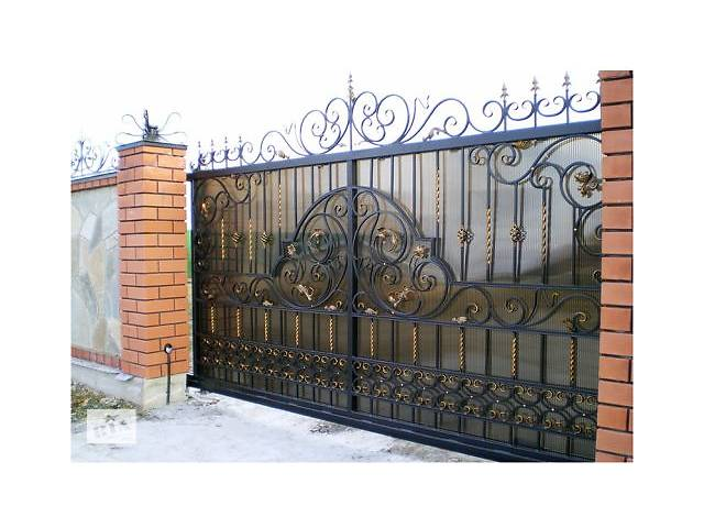 Кованые ворота, сварные ворота, заборы, калитки- объявление о продаже  в Днепре (Днепропетровск)