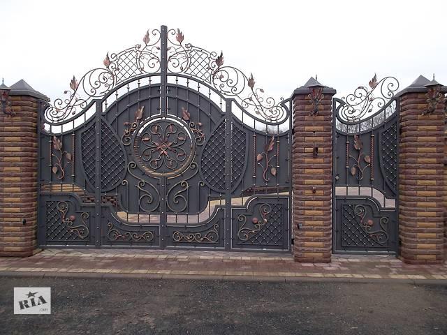 купить бу Кованые ворота, заборы, решетки, перила. Качественно! Вся Украина!  в Украине