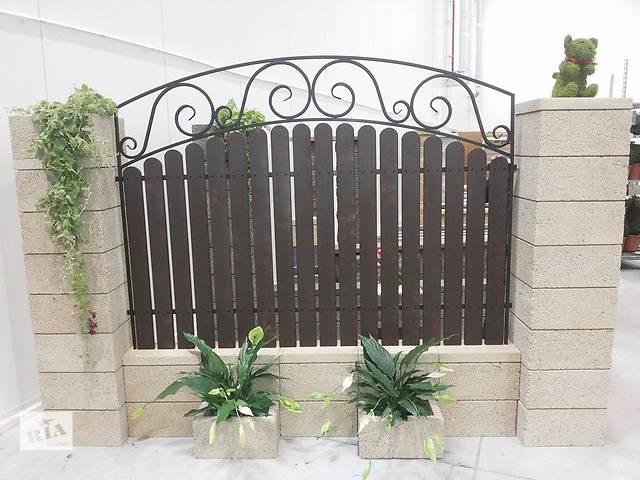 купить бу Ковка,ограда,забор,перила,оконные решетки,скамейки,секции,калитки,балконы,урны,уличные фонари,вольери,клетки,конуры в Ковеле