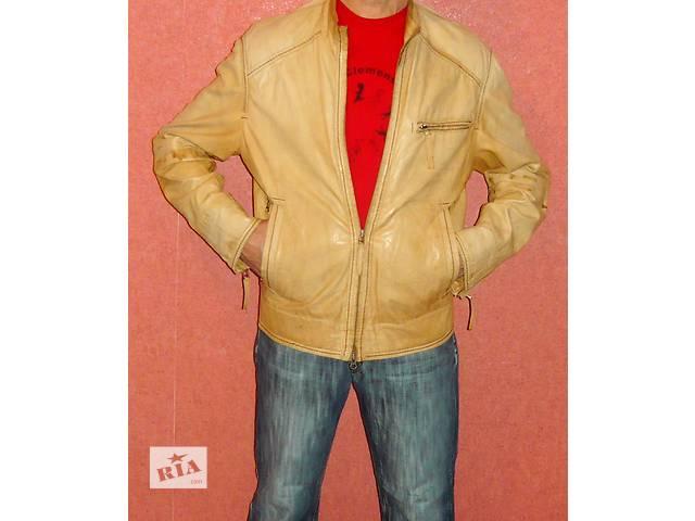 Шкіряна куртка осінь-весна Milestone  1a55944d3c96b