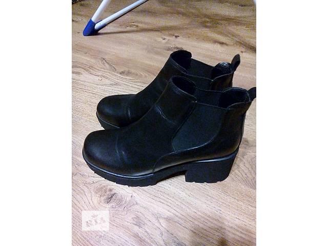 купить бу Кожаные ботинки в Одессе