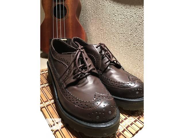 Кожаные туфли- объявление о продаже  в Днепре (Днепропетровск)